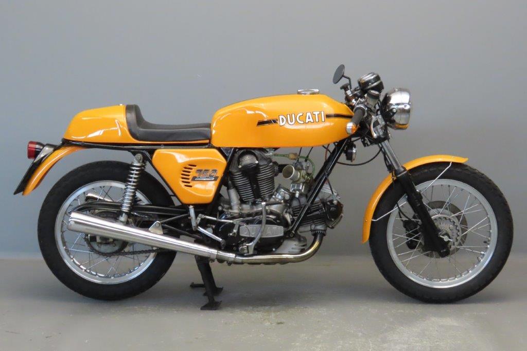Ducati 1973 750S 748cc 2 cyl ohc  2906