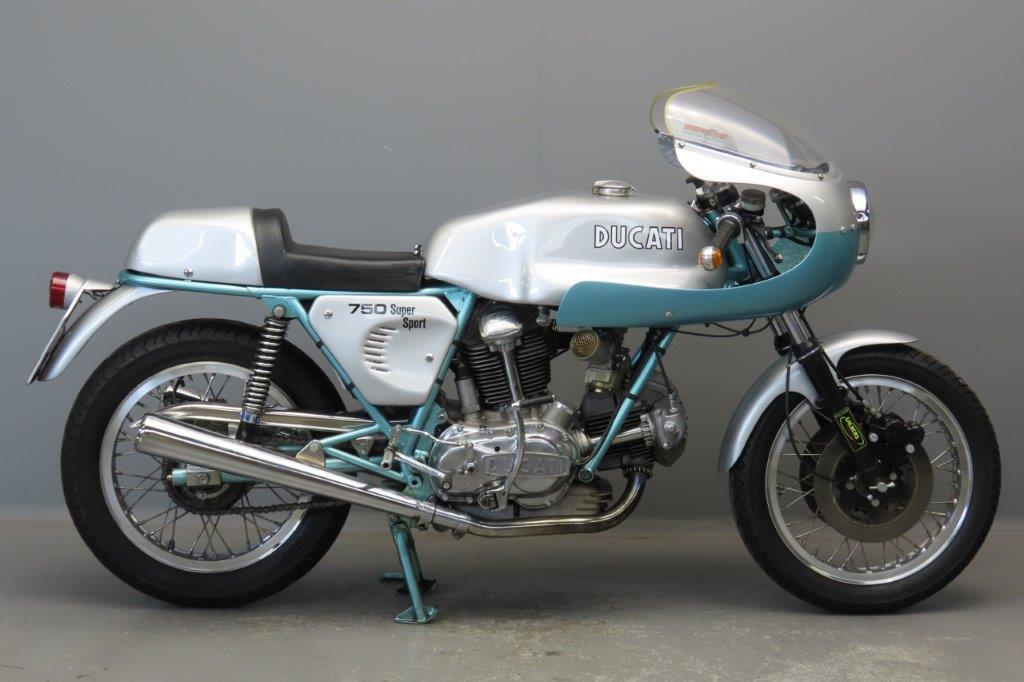 Ducati 1974 750SS 748cc 2 cyl ohc  2906