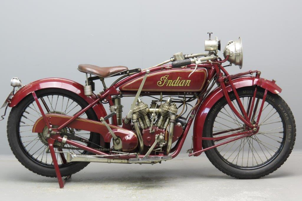 Indian 1920 Scout 596cc 2 cyl sv  2906