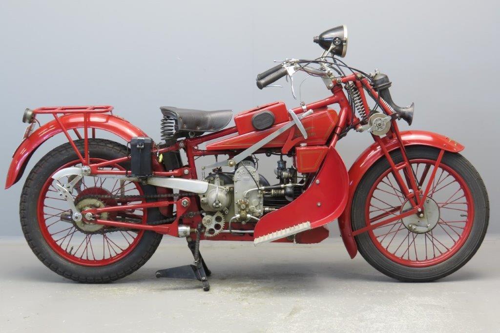 Moto Guzzi 1928 500GT Norge  2906