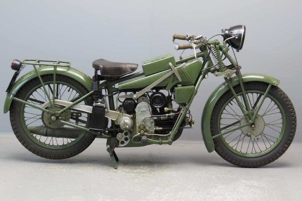 Moto Guzzi 1929 Sport 14 498cc 1 cyl ohv  2906
