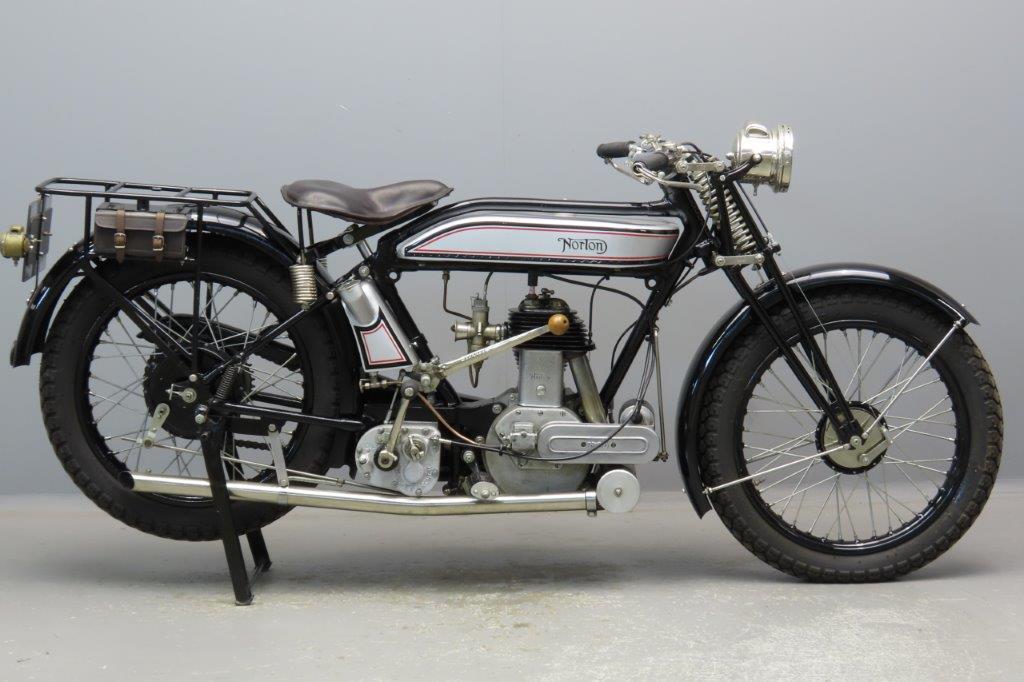 Norton 1925 16H 490cc 1 cyl sv  2906