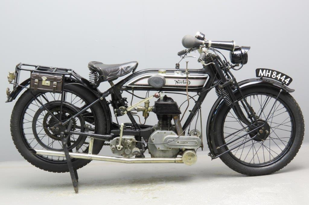 Norton 1925 16H 490cc 1 cyl sv  2906a
