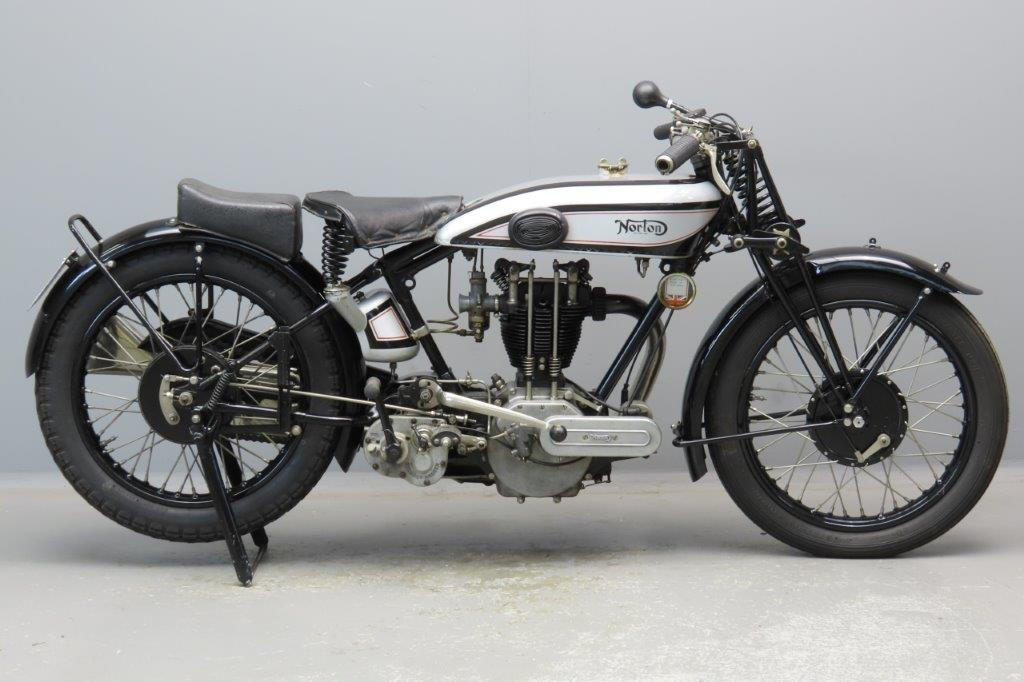 Norton 1929 Model 19 1 cyl ohv  2906