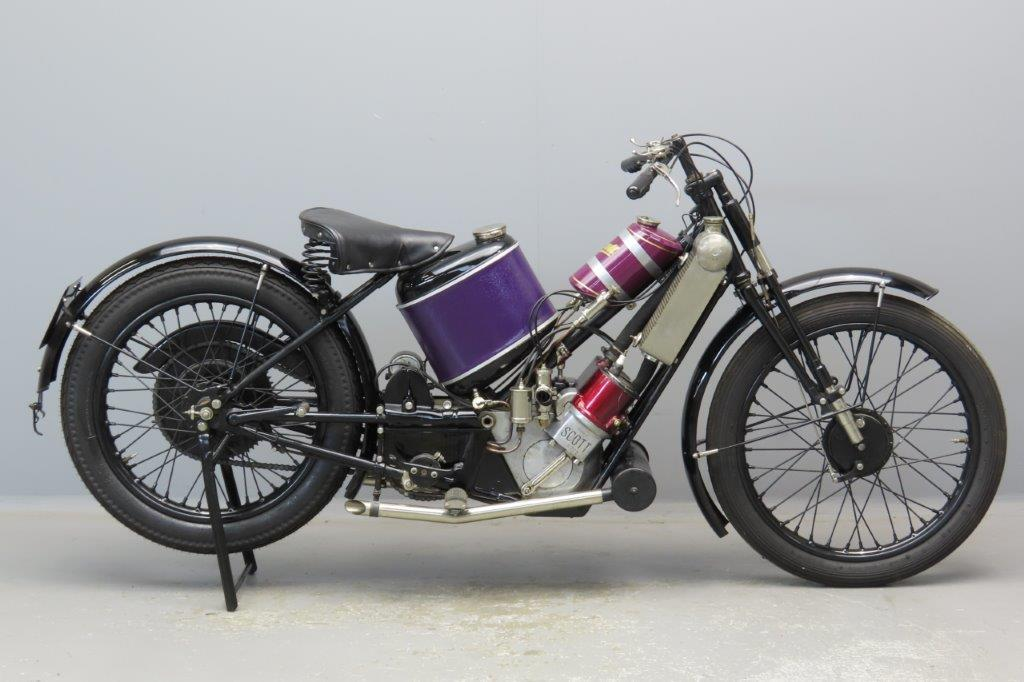 Scott 1924 Squirrel 486cc 2 cyl TS 2906