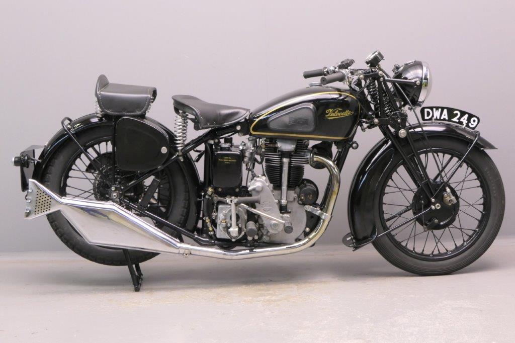 Velocette 1937 KSS 350cc 1 cyl ohc  2906