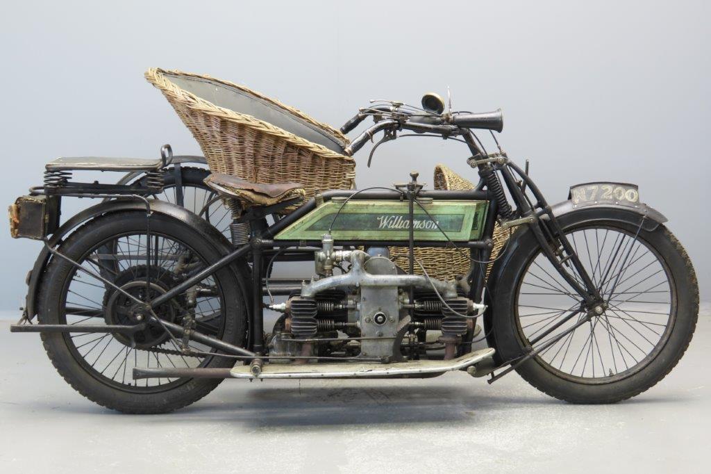 Williamson 1912 8HP 964cc 2 cyl sv  2906