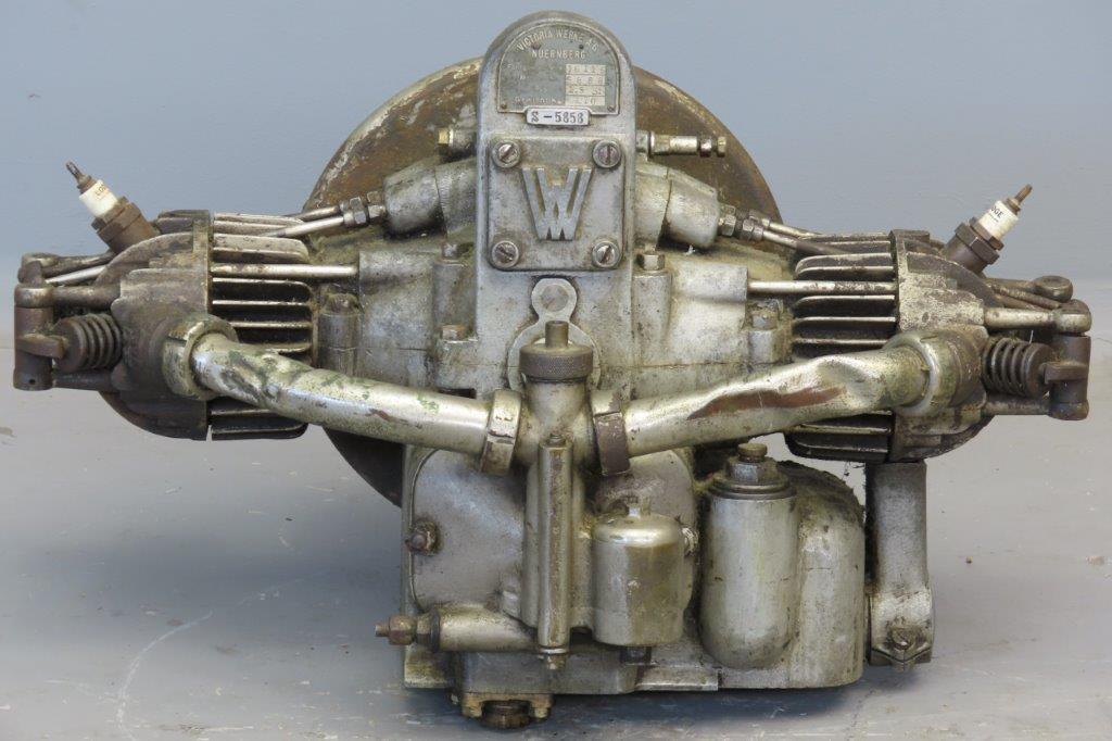 Victoria ca 1924 KR3 500cc 2 cyl ohv