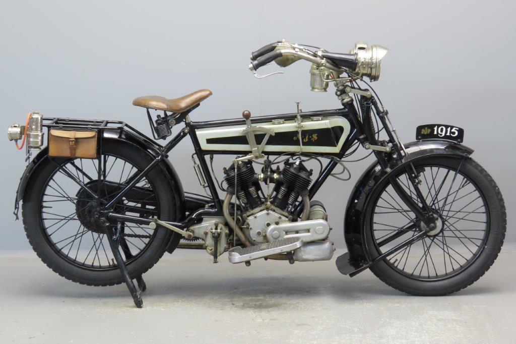 AJS 1915 Model D 748cc 2 cyl sv  2907