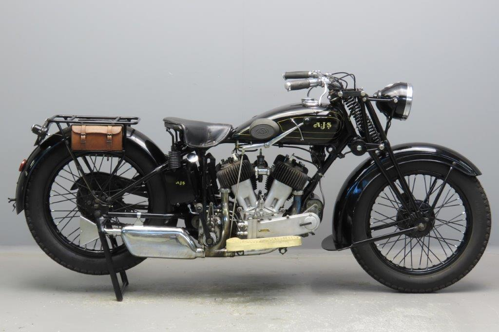 AJS 1930 Model R2 996cc 2 cyl sv  2907