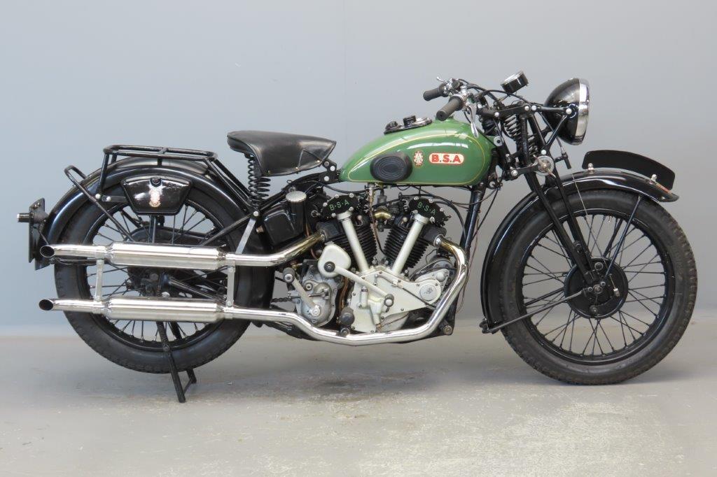 BSA 1934 Model J34-11 500cc 2 cyl ohv  2907