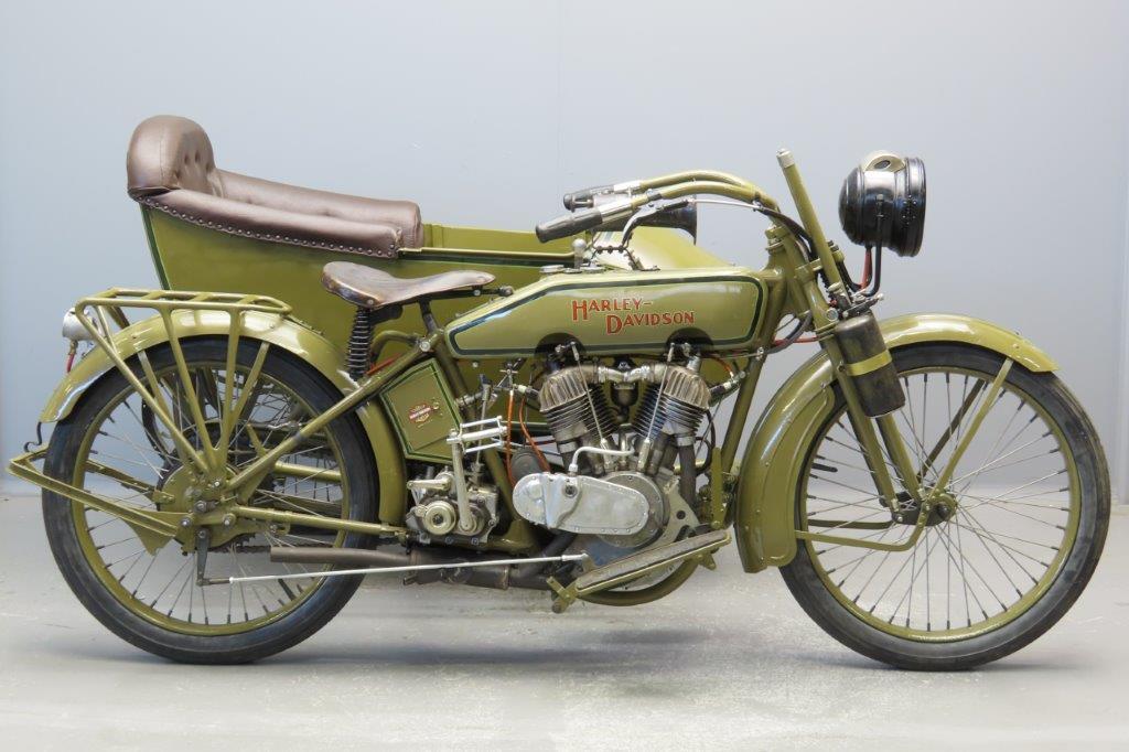 Harley-Davidson 1920  FS 989cc 2 cyl ioe  2907