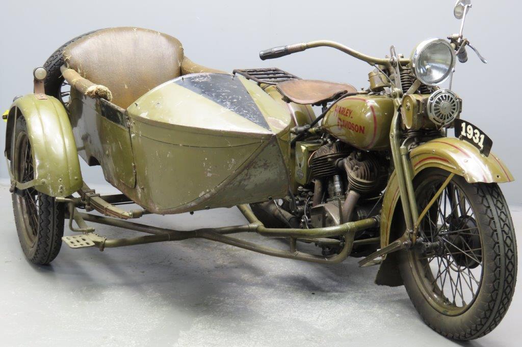 Harley Davidson 1931 VL 1200cc 2 cyl sv  2907