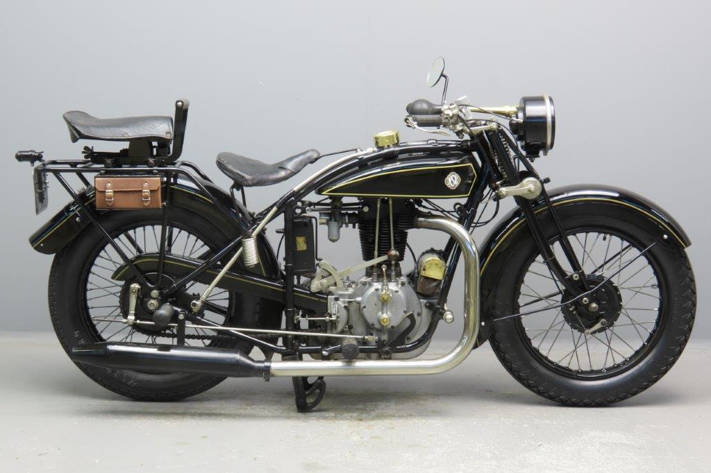 NSU 1929 Model 501S 498cc 1 cyl ohv  2907