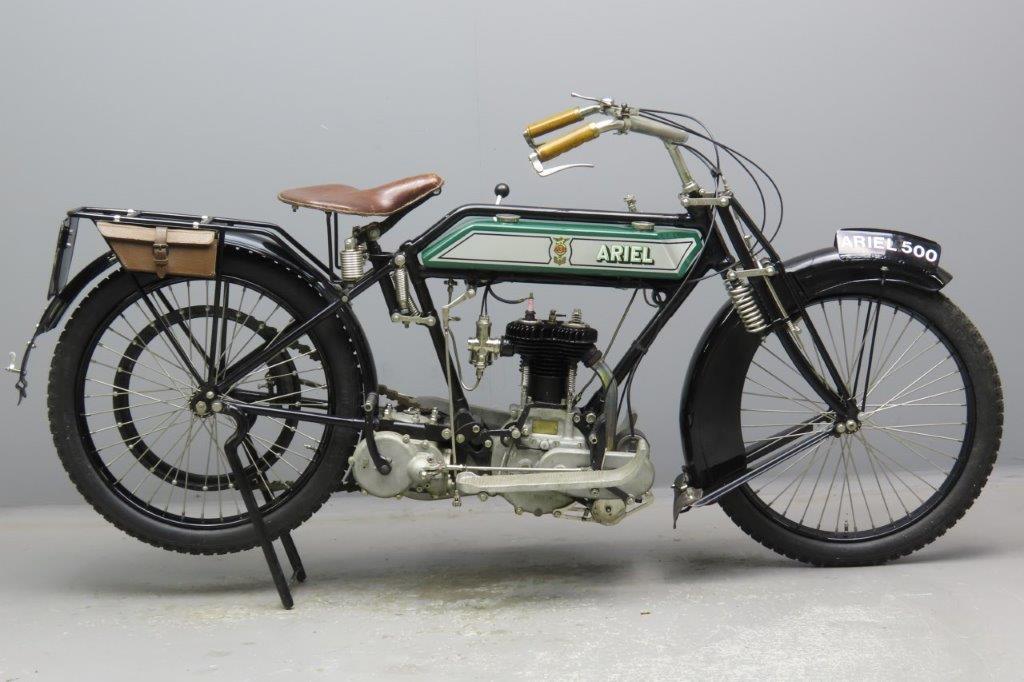 Ariel 1920 3½hp498cc 1 cyl sv  2908