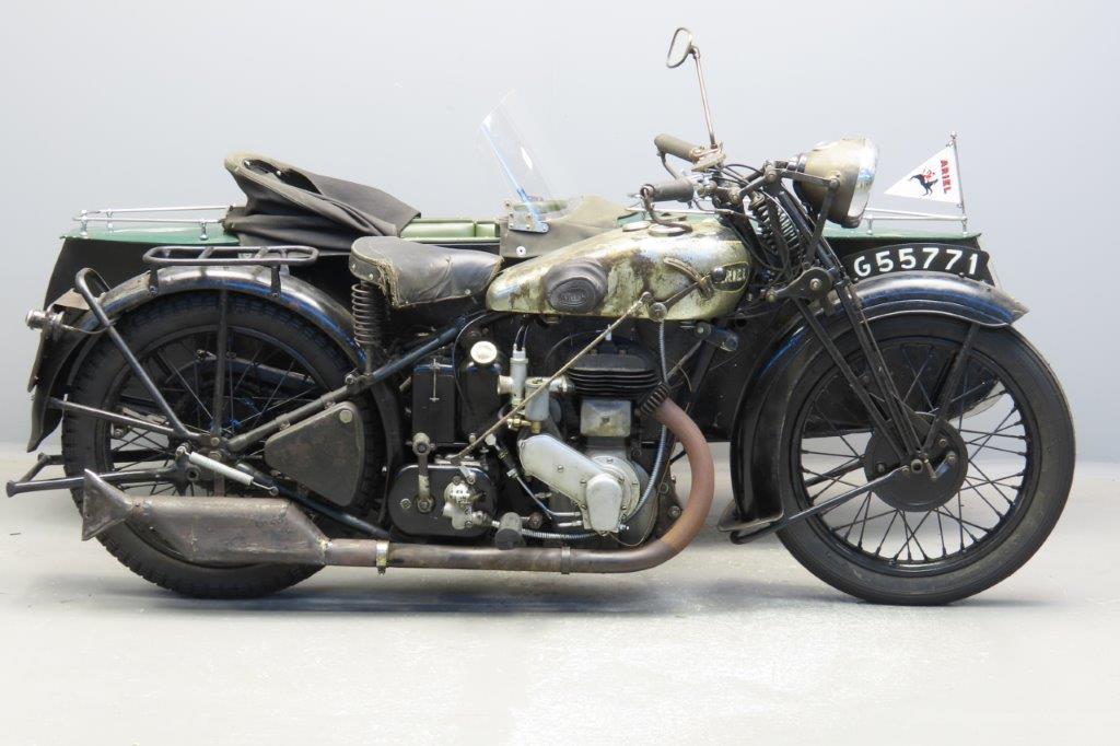 Ariel 1932 VB  557cc 1 cyl sv  2908