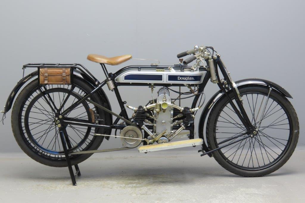 Douglas 1924 Model TS 350cc 2 cyl sv  2908