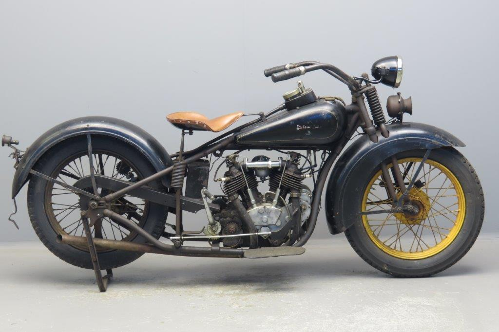 Excelsior 1930 SuperX 750cc 2 cyl ioe  2908