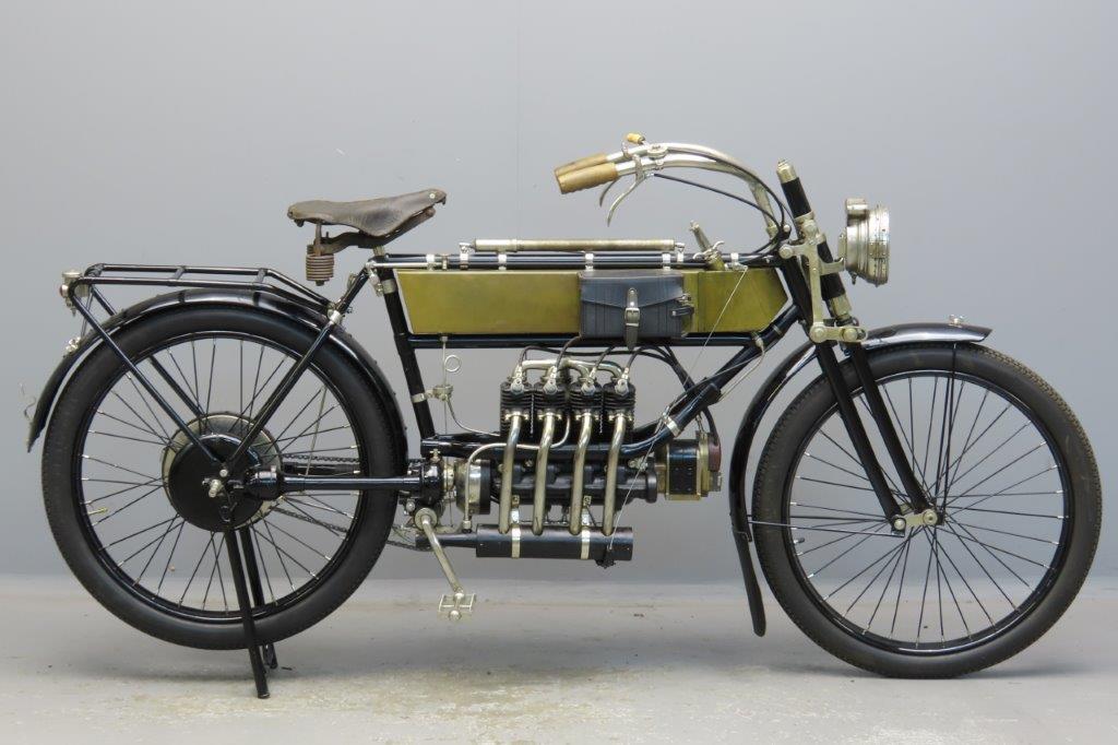 FN 1912 498cc 4 cyl aiv  2908