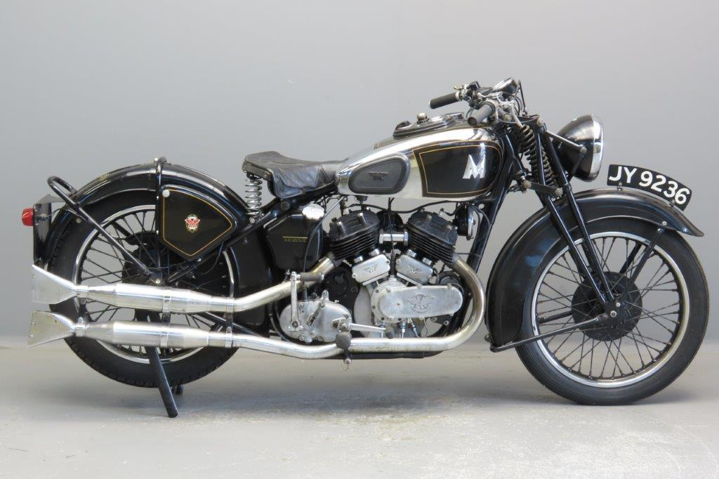 Matchless 1936 Model X 982cc 2 cyl sv  2908