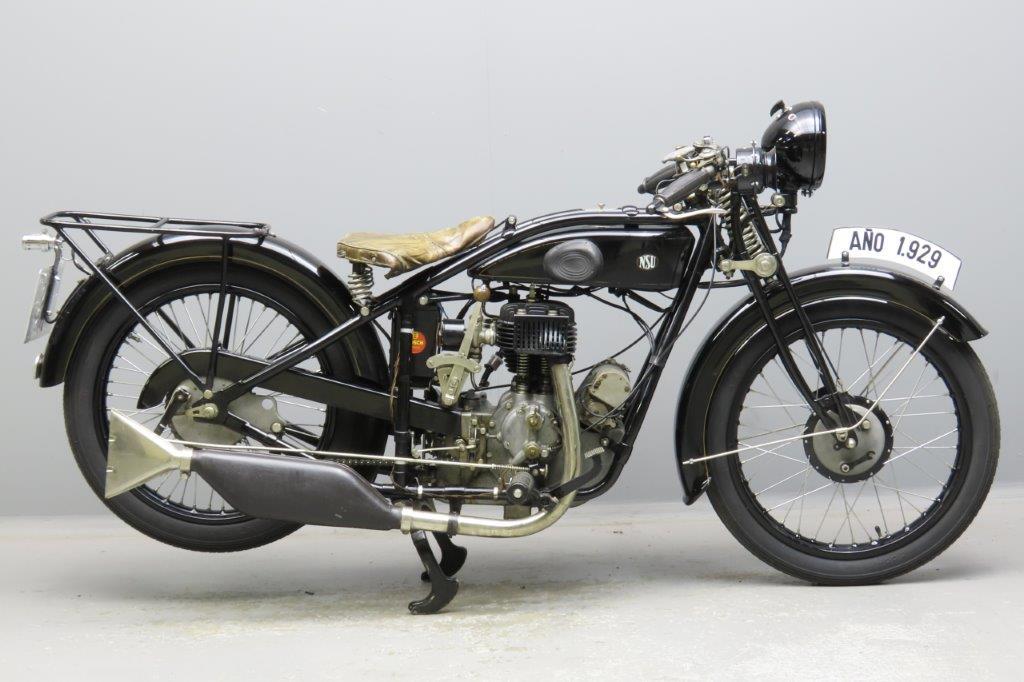 NSU 1929 301T  300cc 1 cyl sv  2908