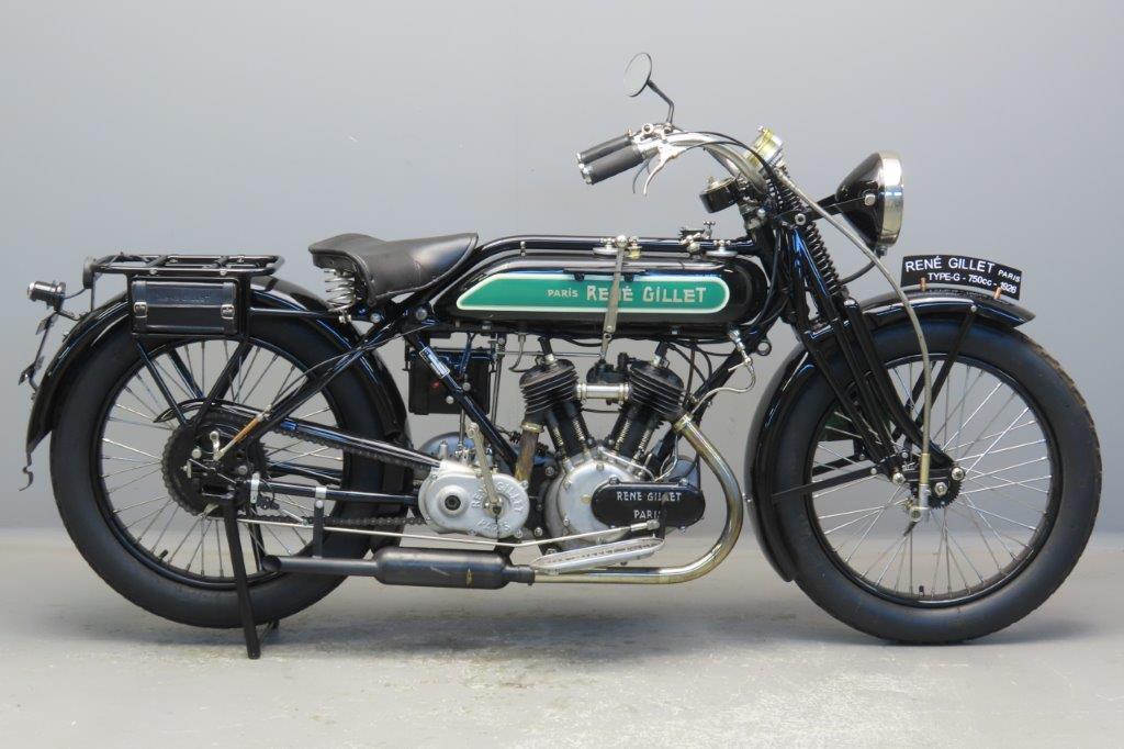 "René Gillet 1926 6cv Model ""G 1"" 750 cc 2 cyl sv  2908"