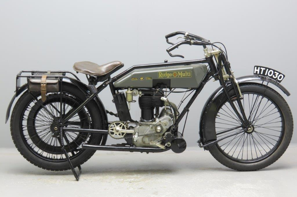 Rudge 1921 Multi 500cc 1 cyl ioe  2908