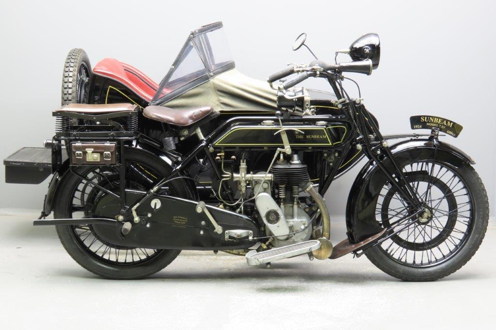 Sunbeam 1924 model 7 599cc 1 cyl sv  2908
