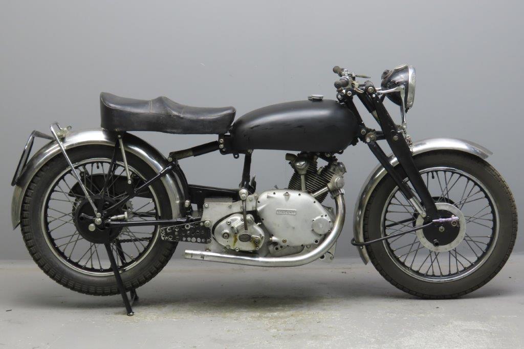 Vincent 1951 Comet 499cc 1 cyl ohv  2908