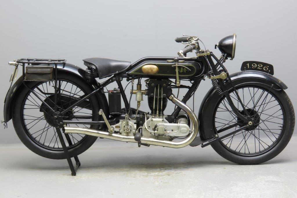 AJS 1926 G8 500cc 1 cyl ohv  2909