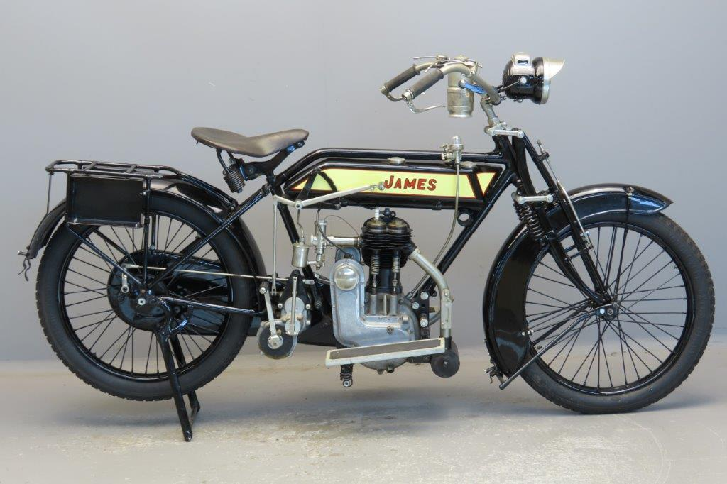 James 1914 Model 6 598cc 1 cyl sv  2909