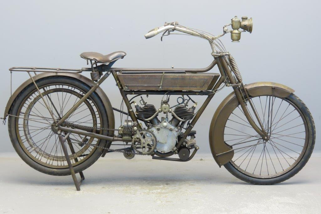 Motosacoche 1911 2C3  344cc 2 cyl sv  2903
