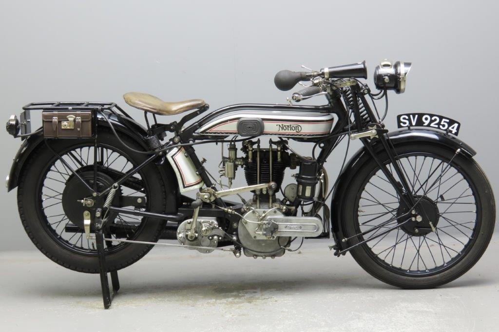 Norton 1926 Model 18 490cc 1 cyl ohv  2909