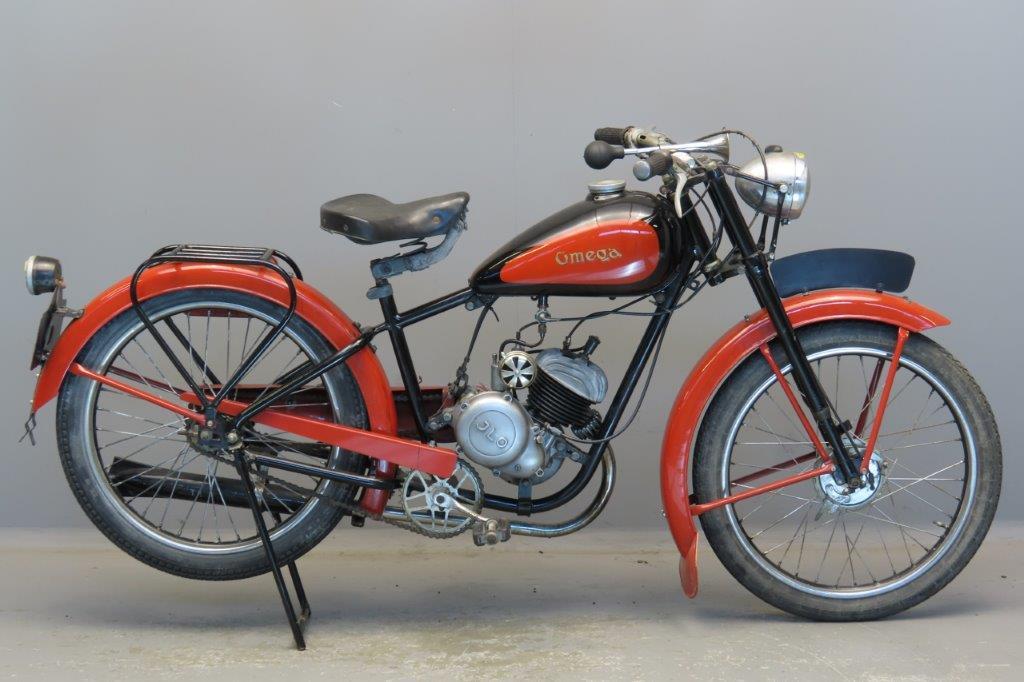 Omega ca 1950 98cc 1 cyl ts  2909