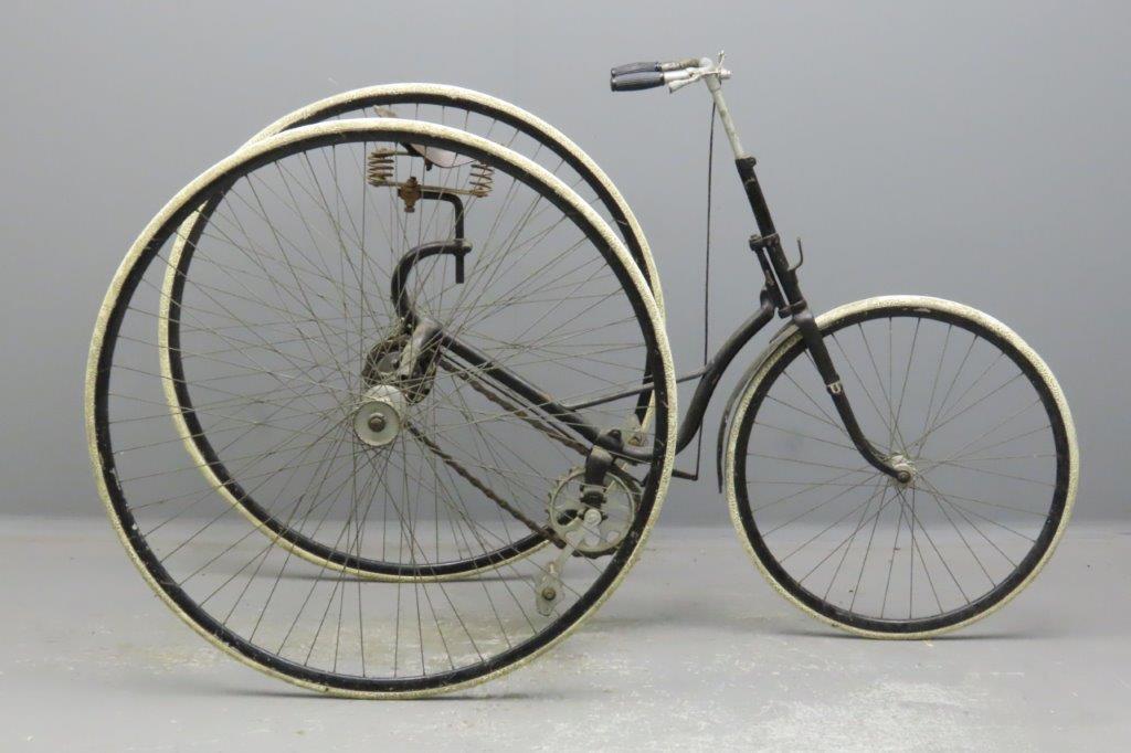 Sparkbrook 1889 tricycle
