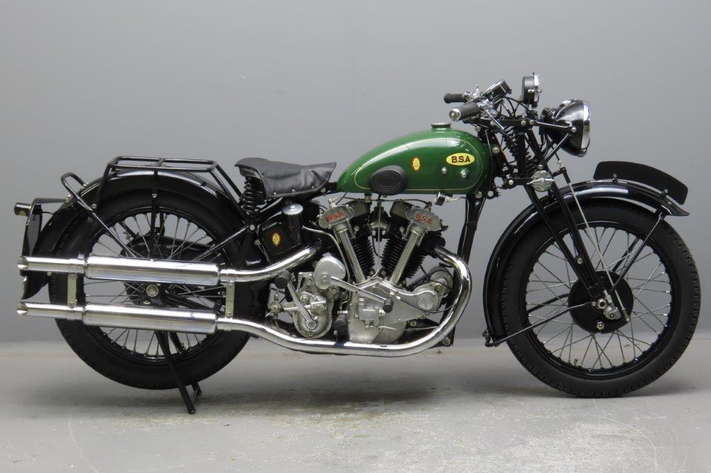 BSA 1935 J35 498cc 2 cyl ohv  2910