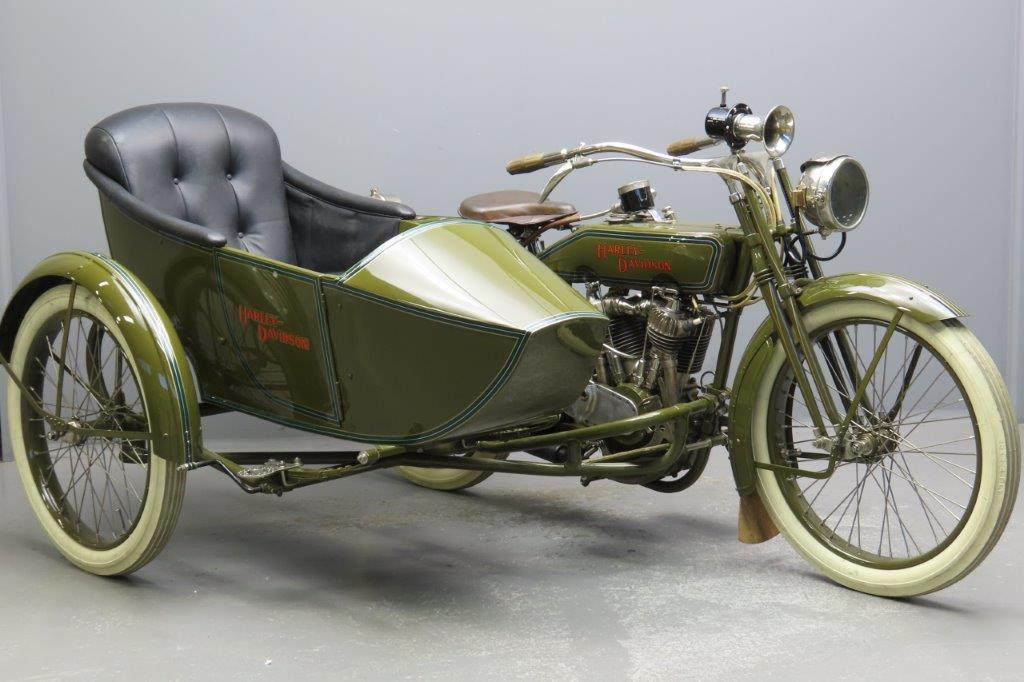 Harley Davidson 1917 17F 998cc 2 cyl ioe  2910