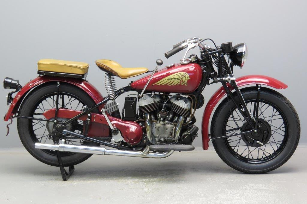 Indian 1943 741 Scout 500cc 2 cyl sv  2910