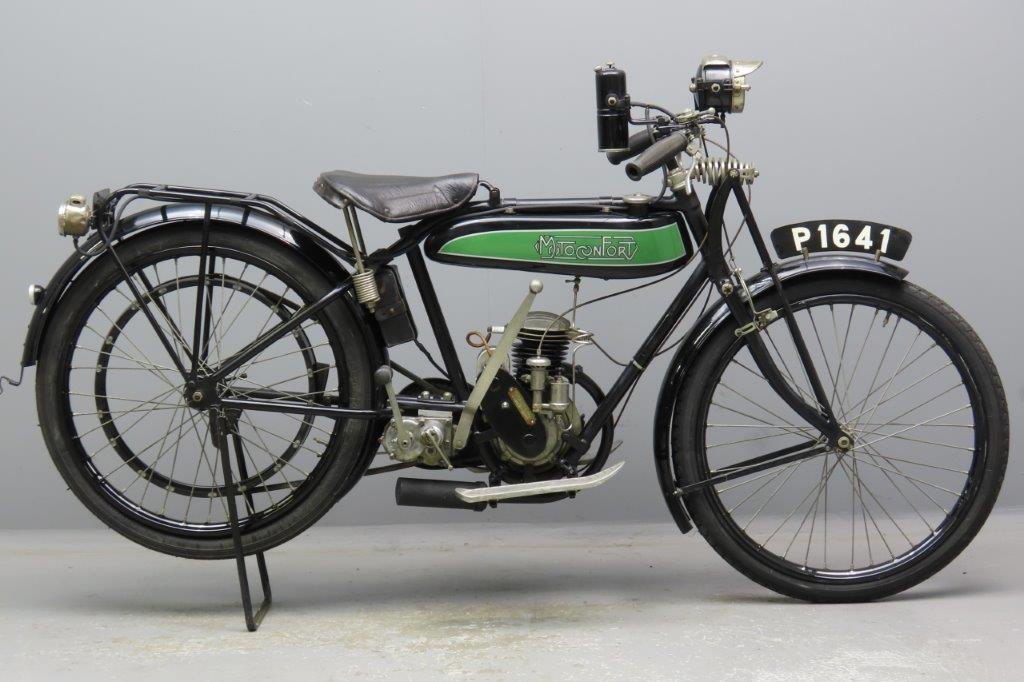 Motoconfort 1927 174cc 1 cyl ts  2910