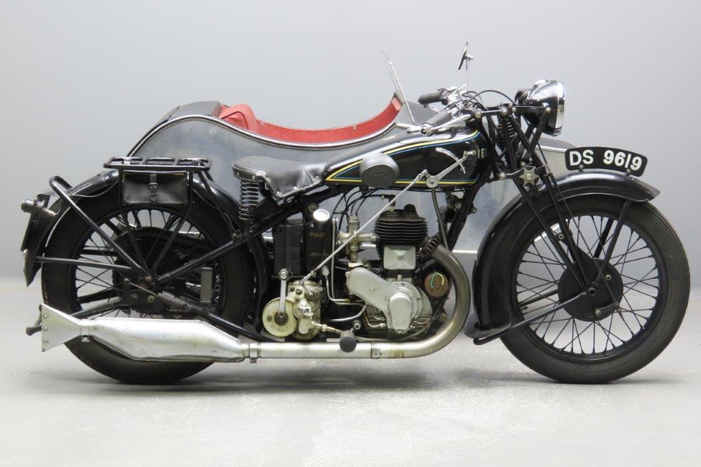 Ariel 1930 Model B  557cc 1 cyl sv  2911