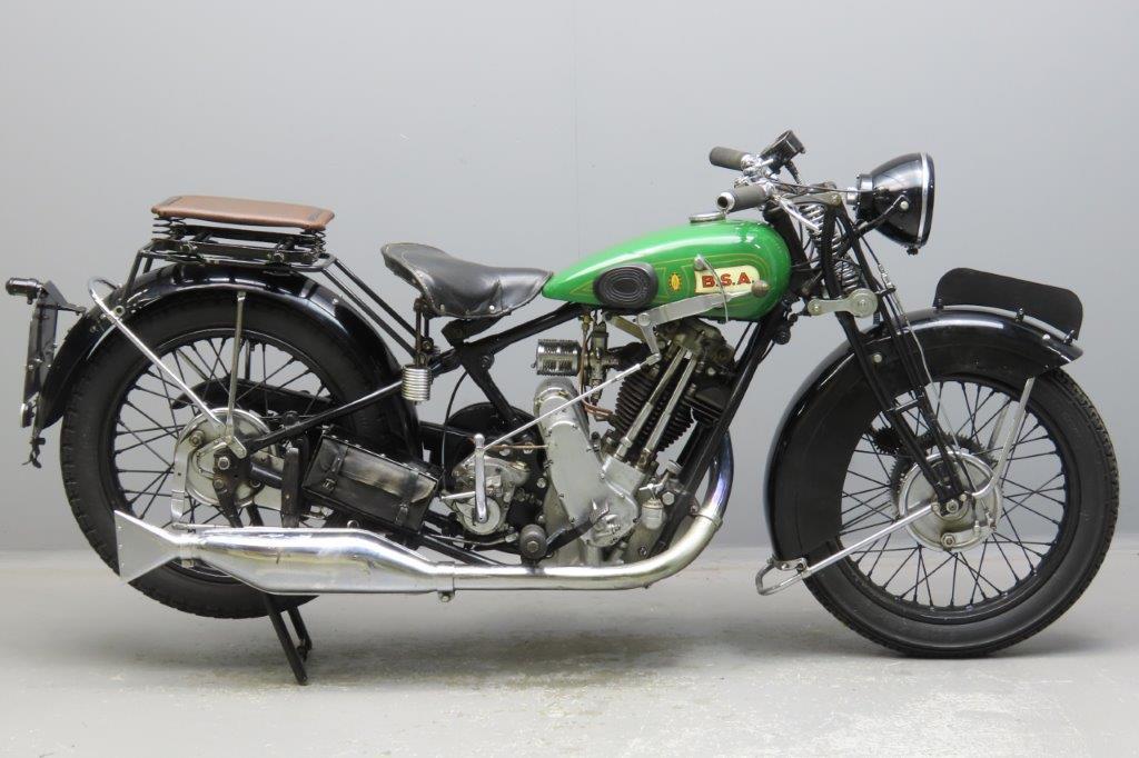 BSA 1928 S28 de Luxe 493cc 1 cyl ohv  2911