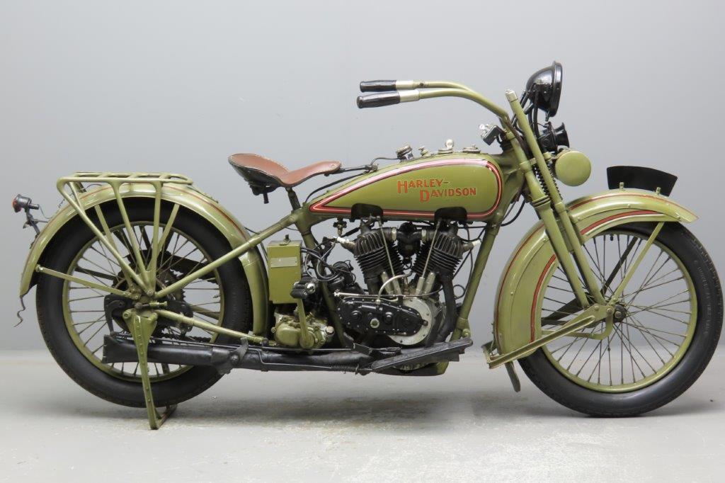 Harley Davidson 1926 Model J 989cc 2 cyl ioe 2911