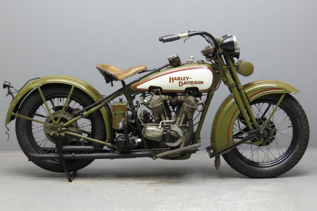 Harley Davidson 1929 JD 1212cc 2 cyl ioe  2911