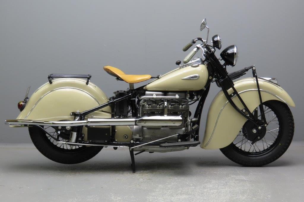 Indian 1940 model 440 1265cc 4 cyl ioe  2911