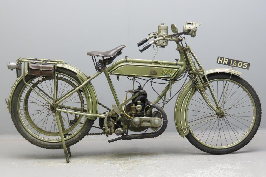 Ixion 1920 Model B MKII  269cc 1 cyl ts   2911