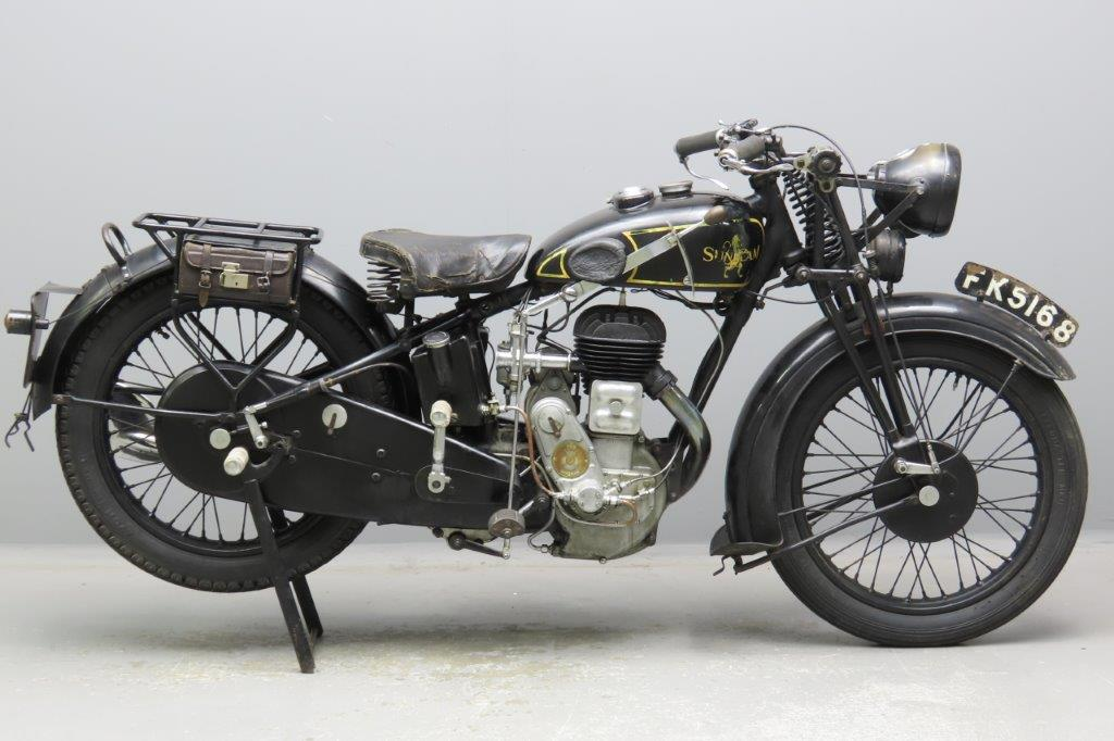 Sunbeam 1932 Lion 492cc 1 cyl sv  2911