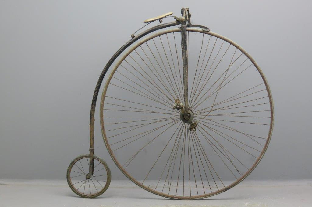 Ordinary bicycle ca 1885 52 inch  2911
