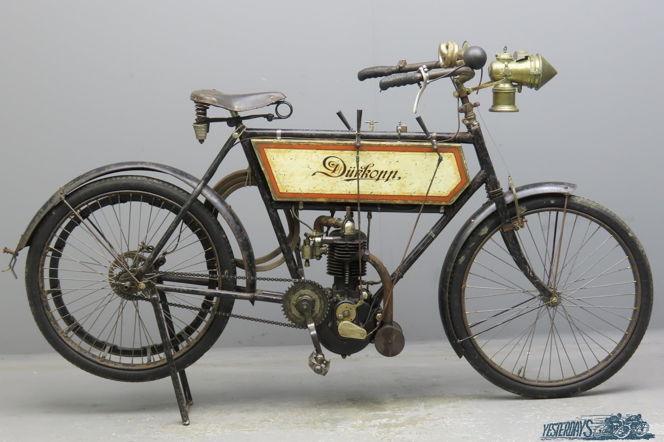 Dürkopp 1904 1¾hp 270cc 1 cyl aiv  2912