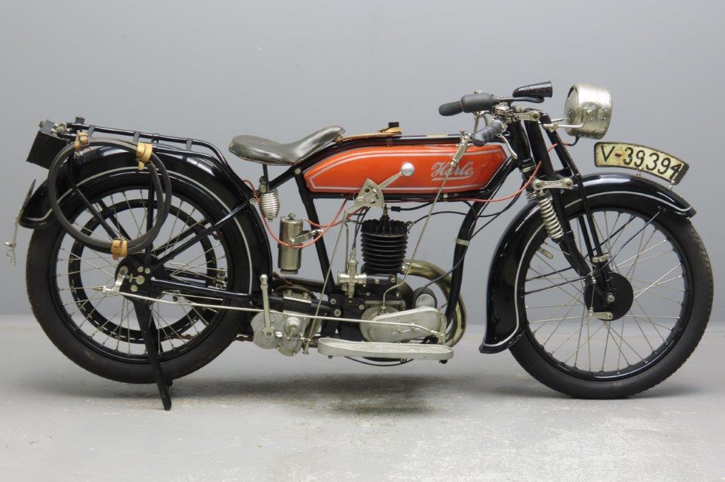 Harlé 1924 4PS 350cc 1 cyl ts  2912