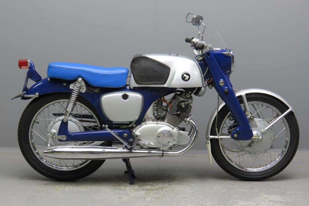 Honda ca1964 CB92 Benly 124cc 2 cyl ohc  2912